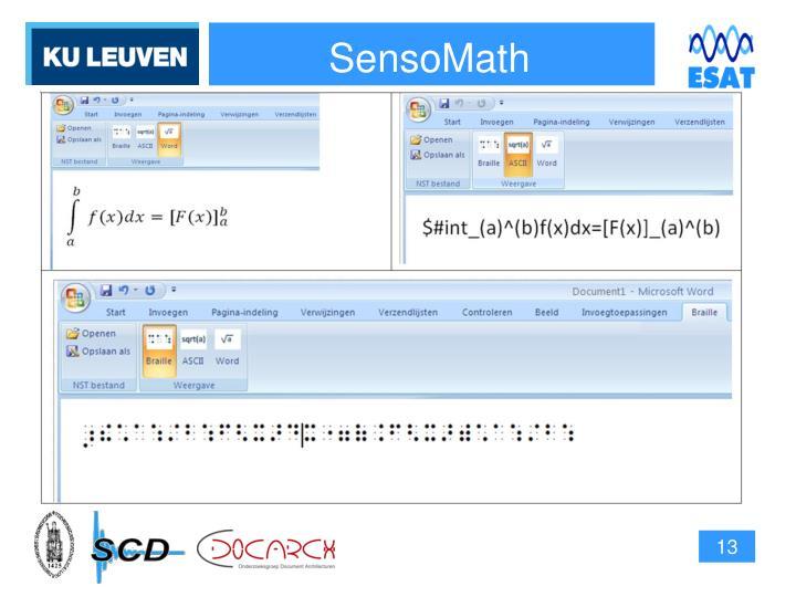 SensoMath