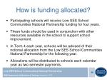 how is funding allocated