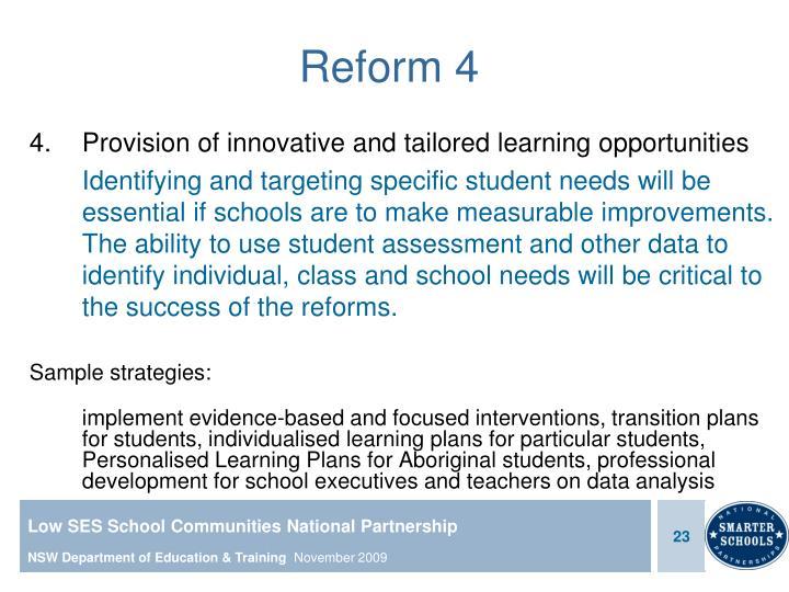 Reform 4