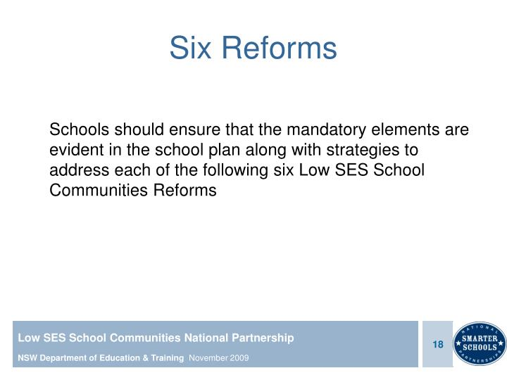 Six Reforms