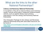 what are the links to the other national partnerships1