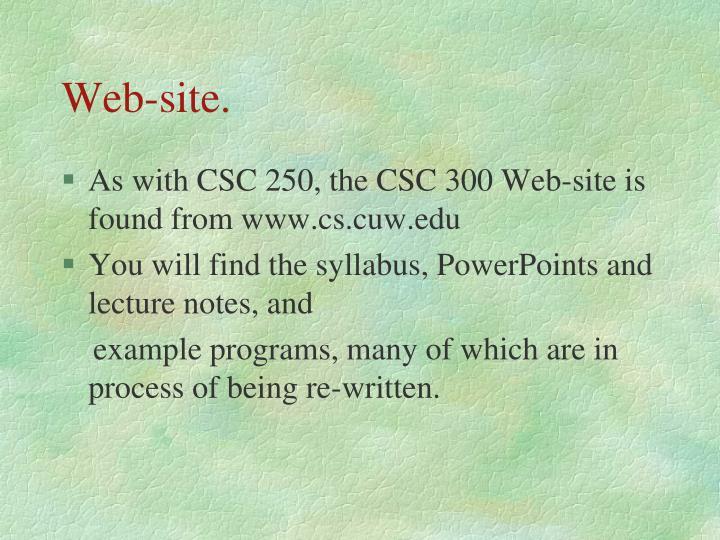 Web-site.