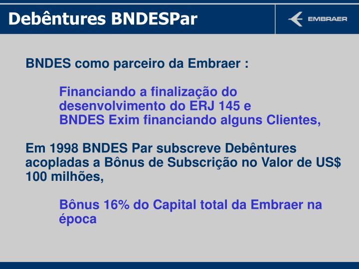 Debêntures BNDESPar