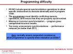 programming difficulty