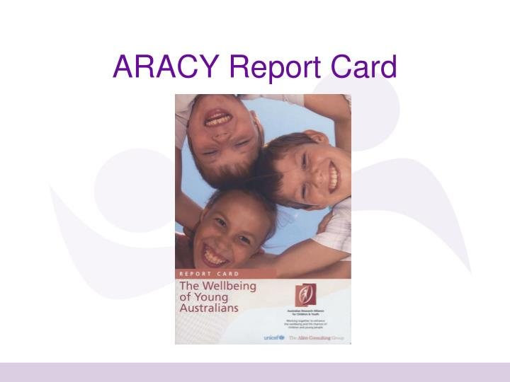 ARACY Report Card