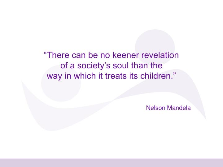 """There can be no keener revelation"