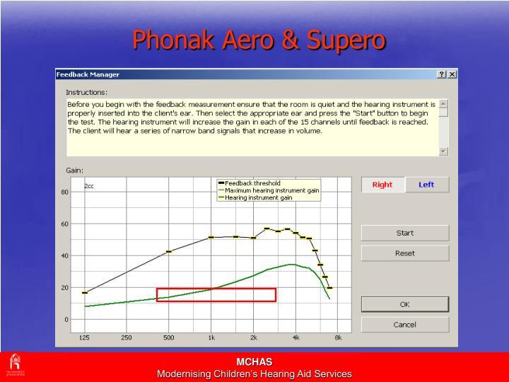 Phonak Aero & Supero