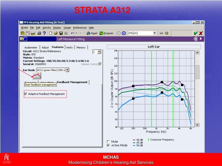 STRATA A312