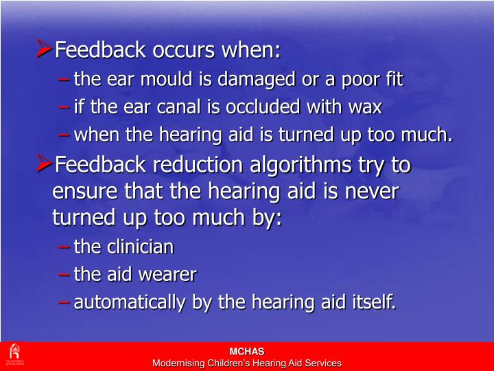 Feedback occurs when: