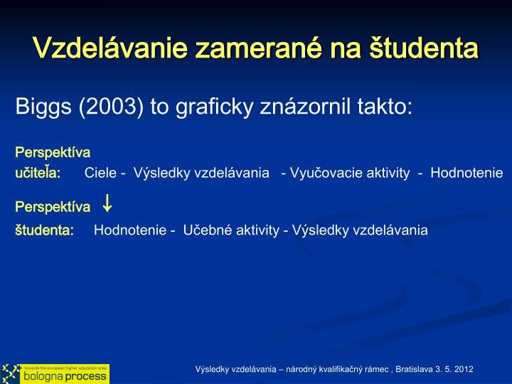 Vzdelávanie zamerané na študenta
