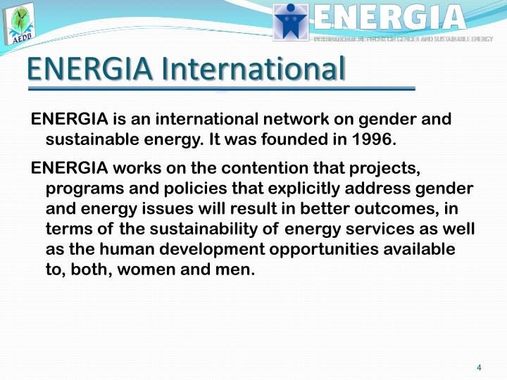 ENERGIA International