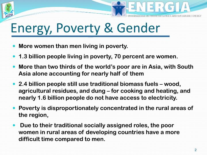 Energy poverty gender
