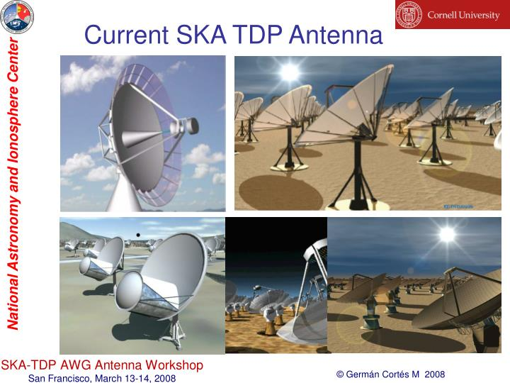 Current SKA TDP Antenna
