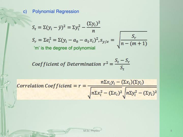 c)Polynomial Regression