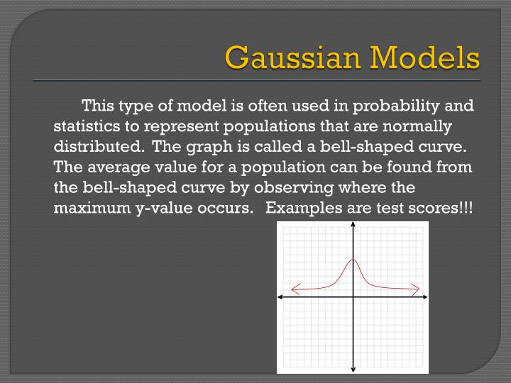 Gaussian Models