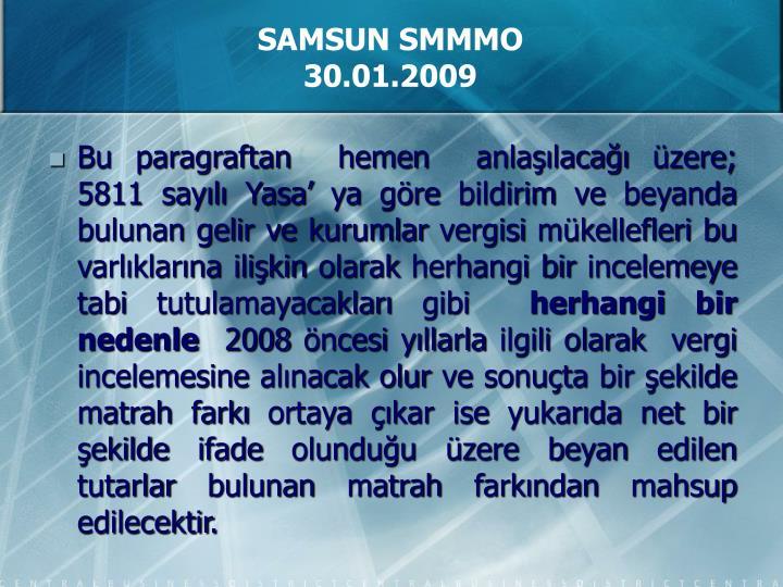 SAMSUN SMMMO