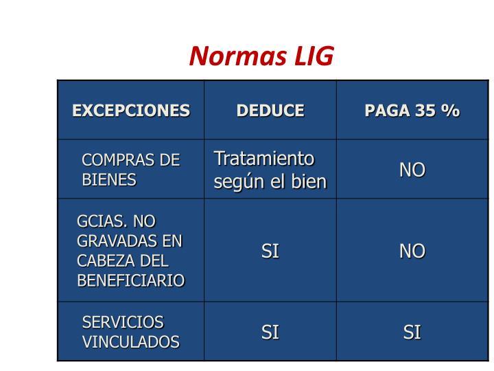 Normas LIG