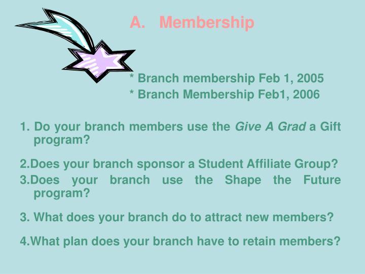 A.   Membership