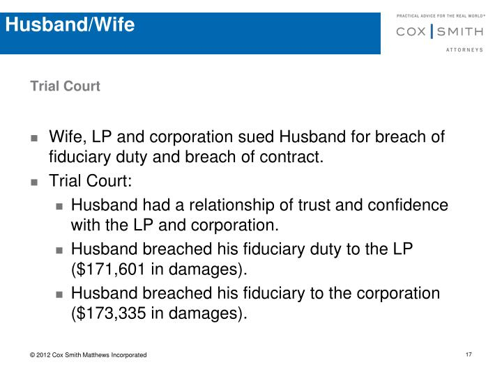 Husband/Wife