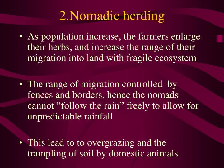 2.Nomadic herding