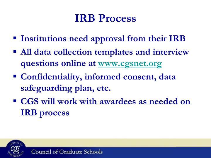 IRB Process