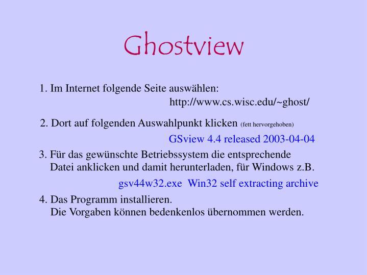Ghostview