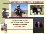 army community services fort jackson south carolina kimberly bottema 803 751 5256