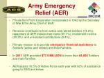 army emergency relief aer