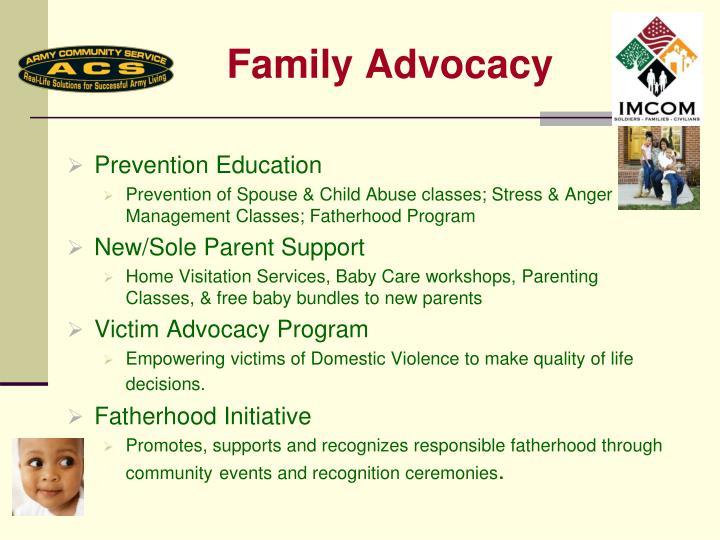 Family Advocacy