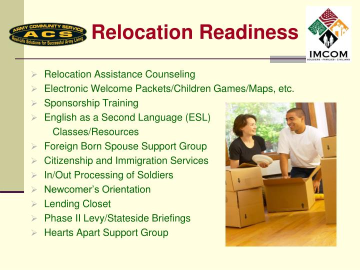 Relocation Readiness
