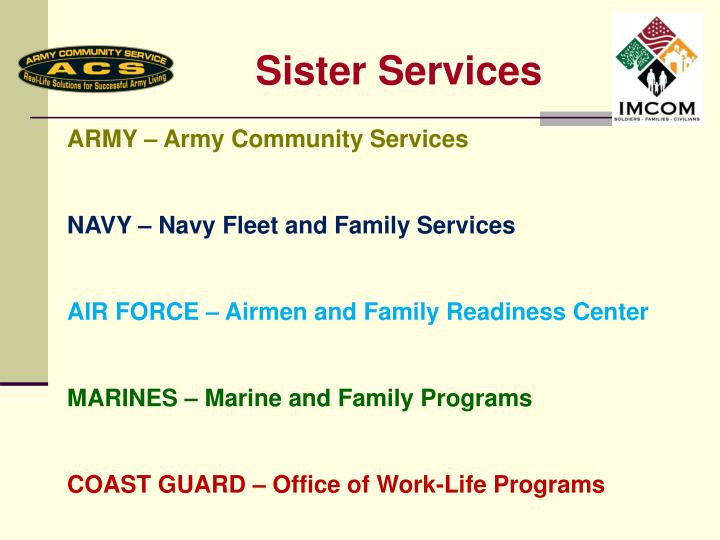 Sister Services
