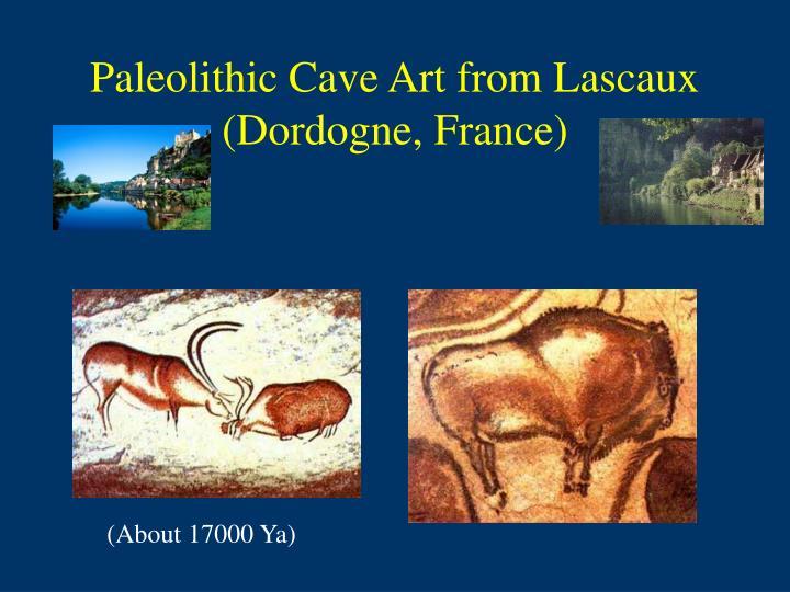 Paleolithic Cave Art from Lascaux (Dordogne, France)