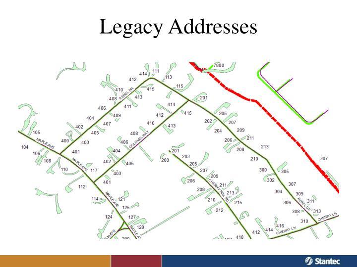 Legacy Addresses