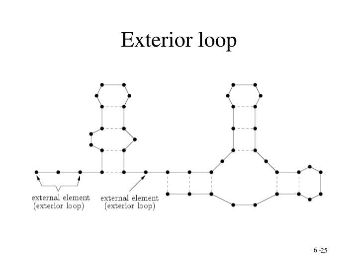 Exterior loop