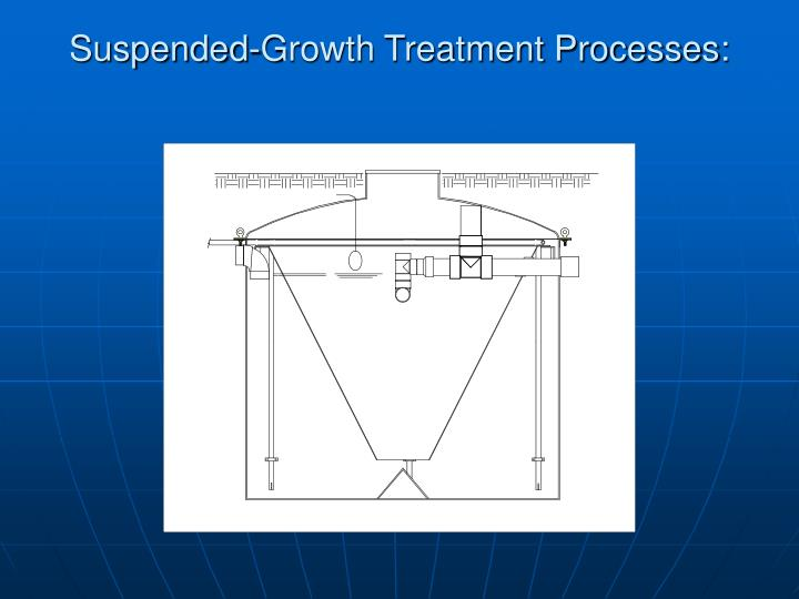 Suspended-Growth Treatment Processes:
