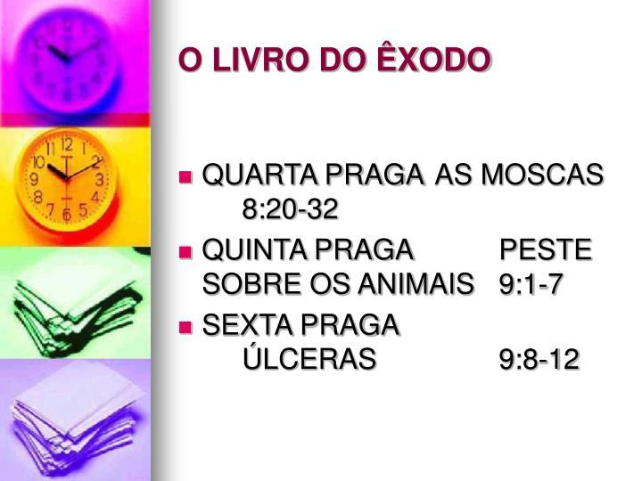 O LIVRO DO ÊXODO