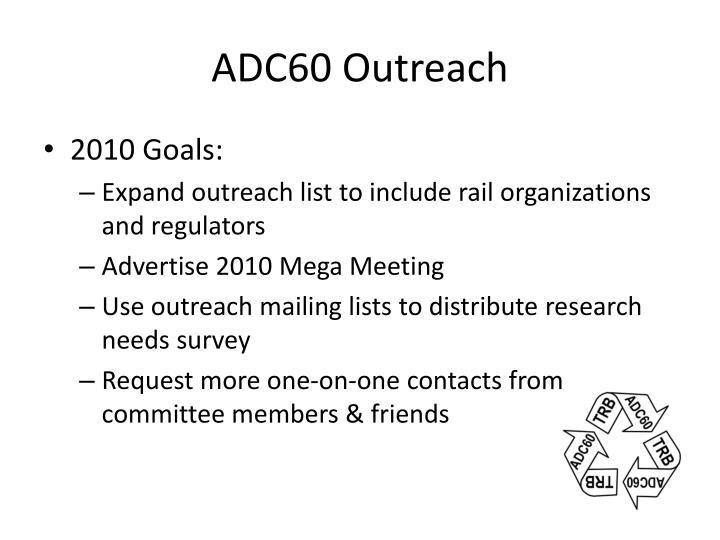 ADC60 Outreach