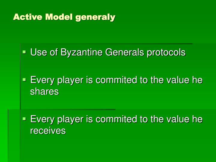 Active Model generaly