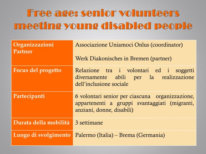 Free age senior volunteers meeting young disabled people1