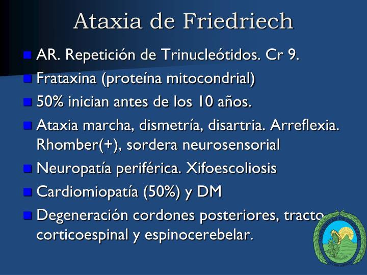 Ataxia de Friedriech