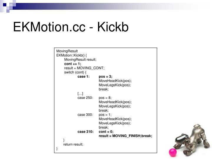 EKMotion.cc - Kickb