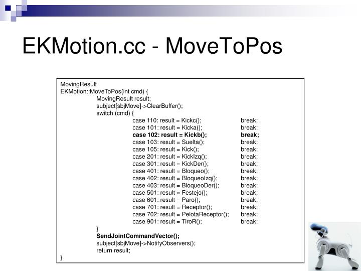 EKMotion.cc - MoveToPos