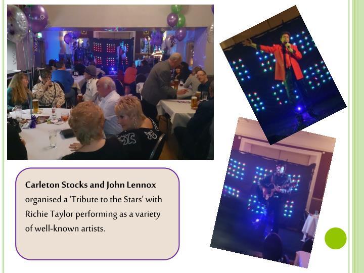 Carleton Stocks and John Lennox