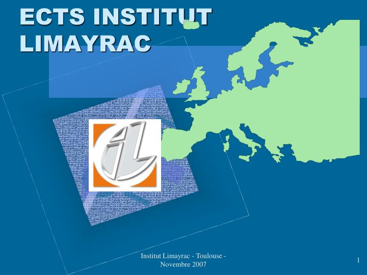 Ects institut limayrac