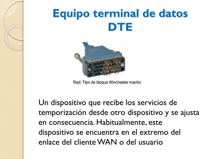 Equipo terminal de datos