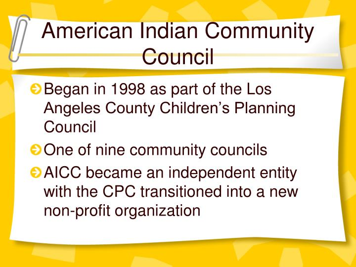 American Indian Community Council