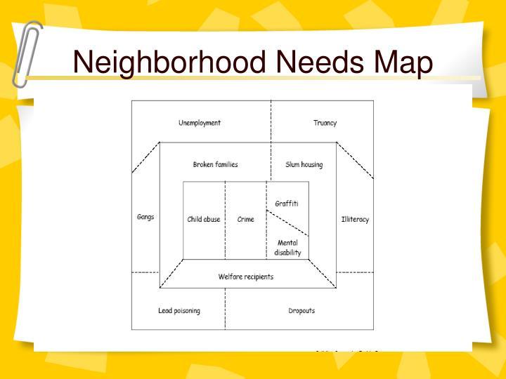 Neighborhood Needs Map