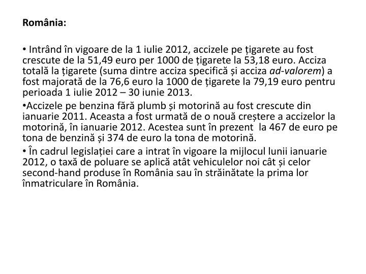 Romnia: