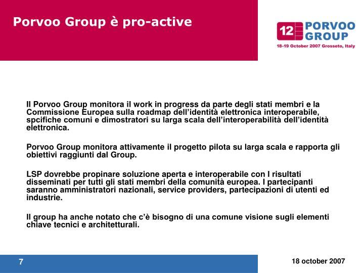 Porvoo Group è pro-active