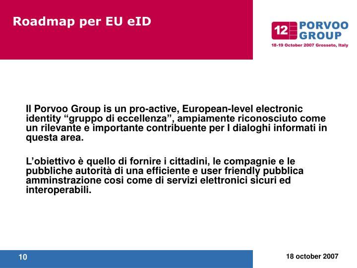 Roadmap per EU eID